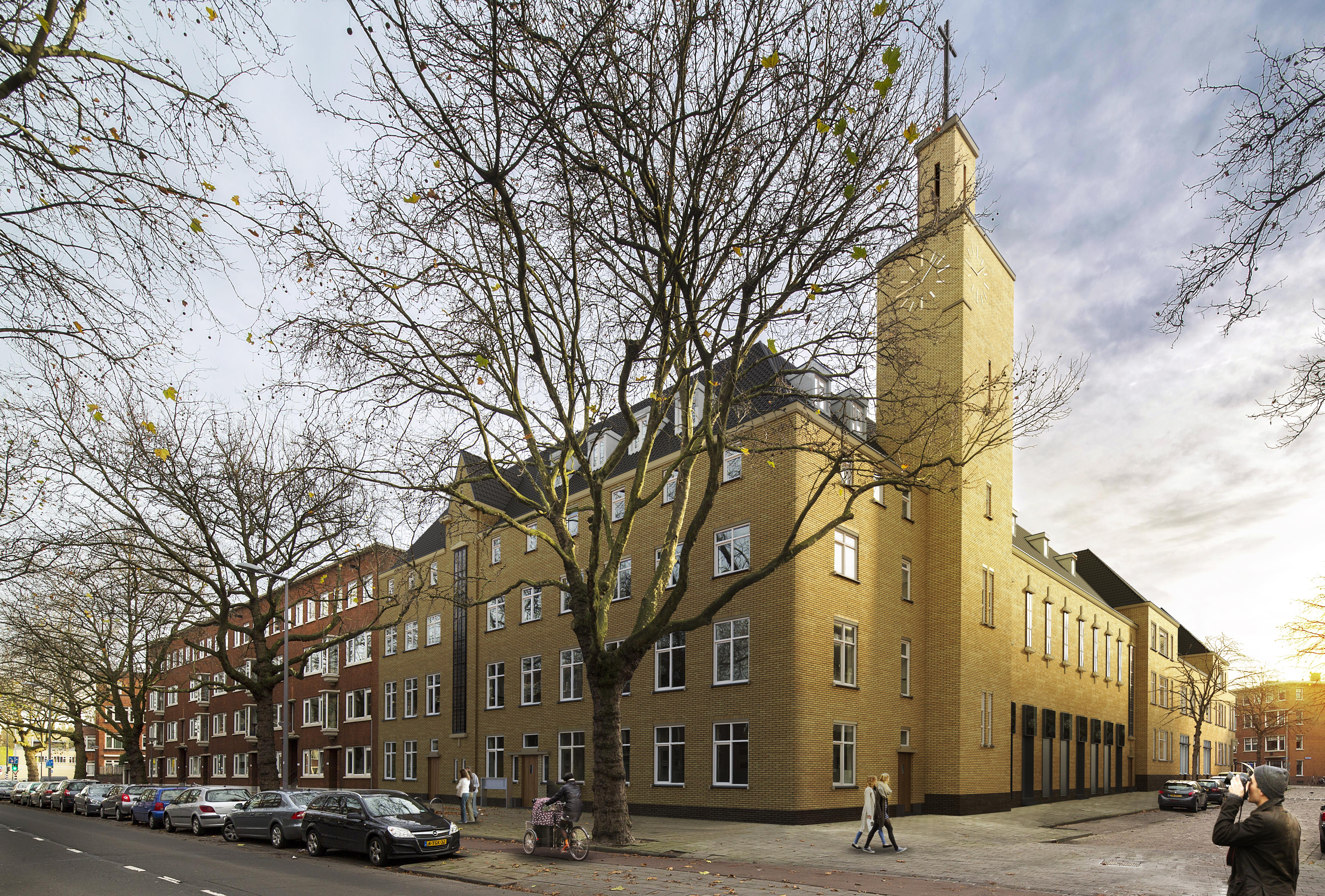 Apartamenty wizualizacja zewnętrzna osiedla Rotterdam 1