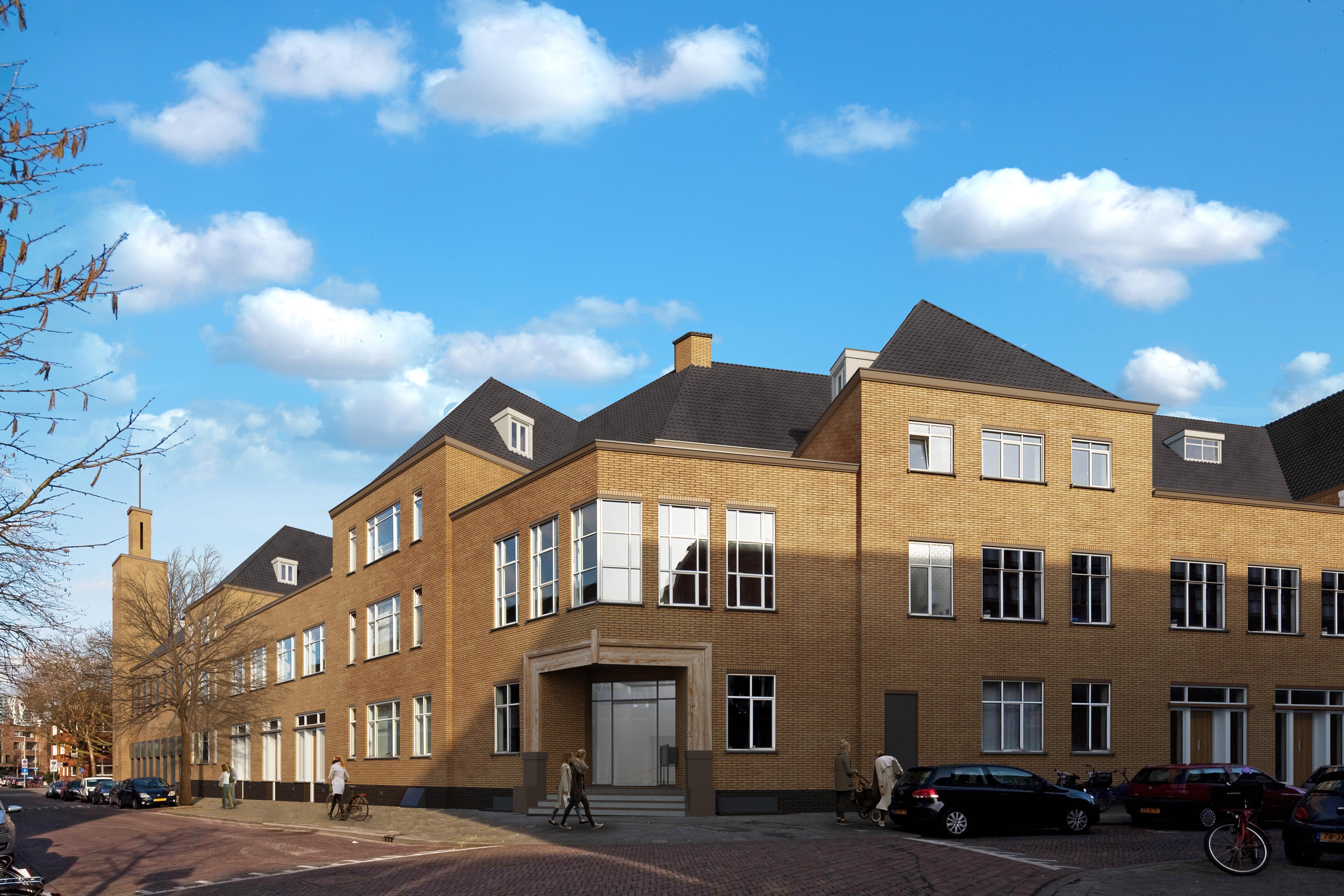 Apartamenty wizualizacja zewnętrzna osiedla Rotterdam 2