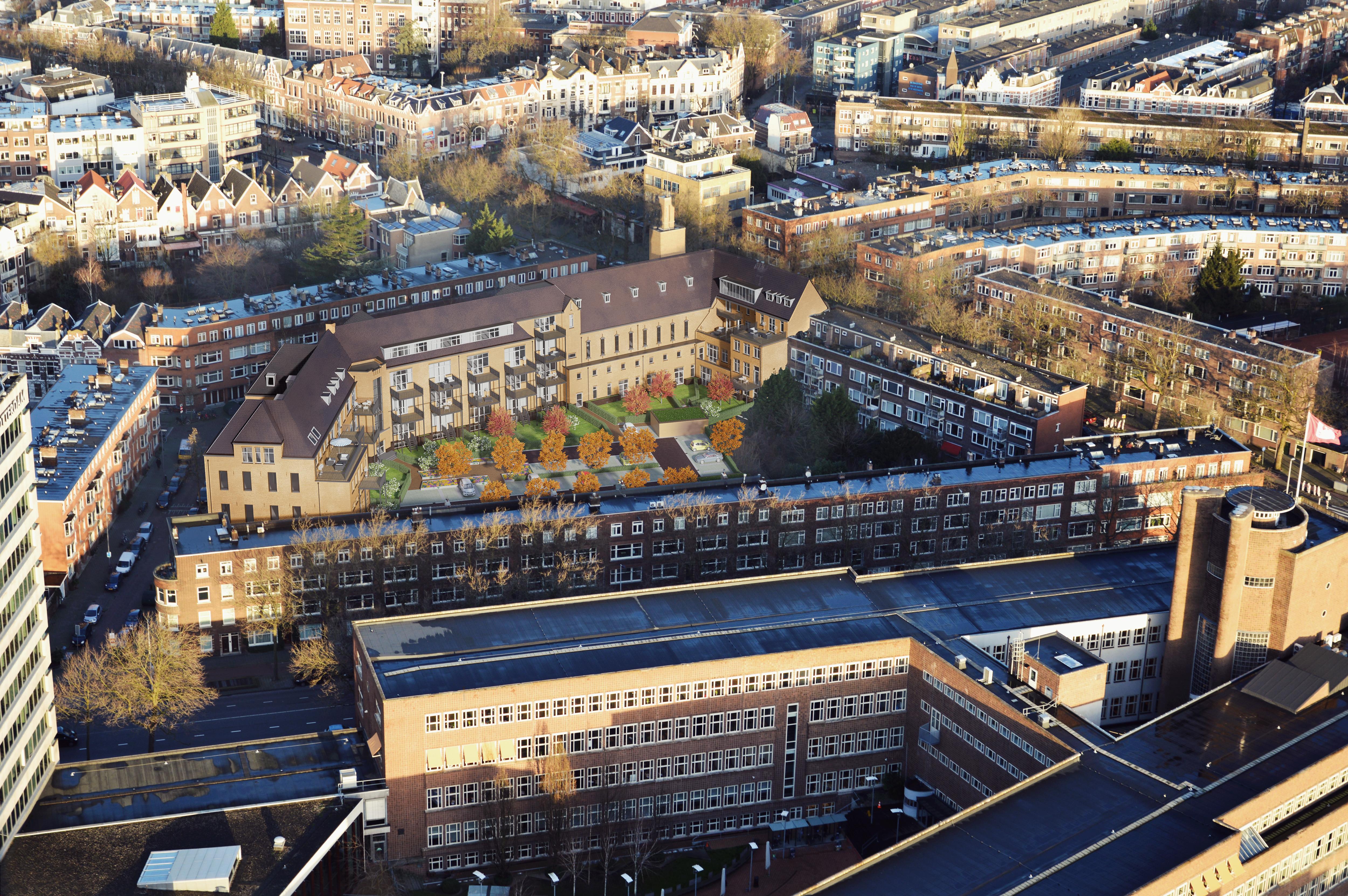 Apartamenty wizualizacja zewnętrzna osiedla Rotterdam 3